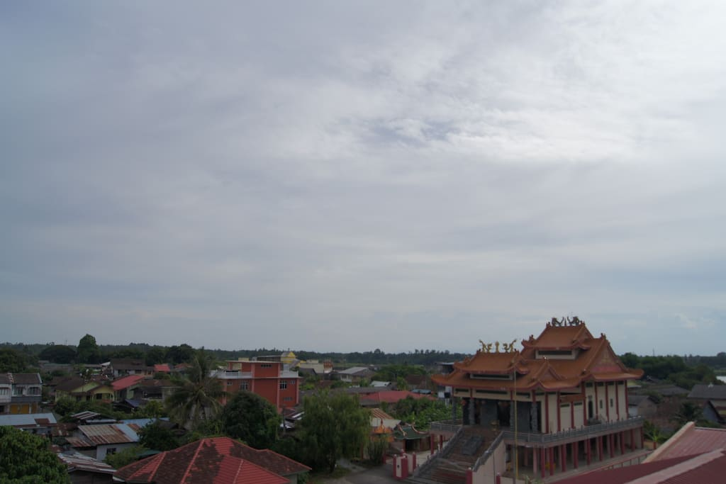 View from roof top