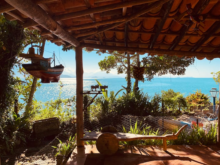Seaside House in Paradise - Ubatuba
