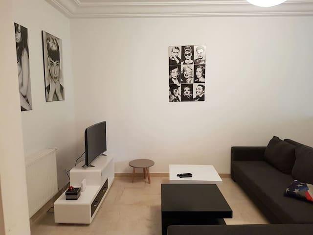 Appartement sympa bien aménagé à La Marsa