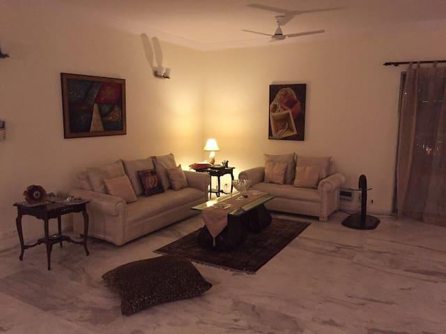 Private room in super plush condominium