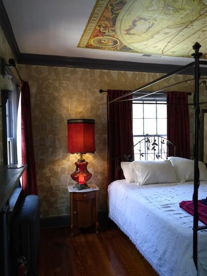 Tom Robbins Room @ The NC Literary Bed & Breakfast