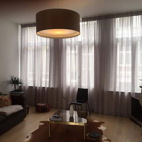 Cosy appartment in vibrant city center! - Antverpy - Byt