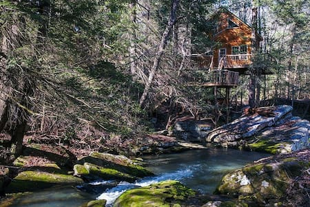 How Sweet the Sound Treehouse