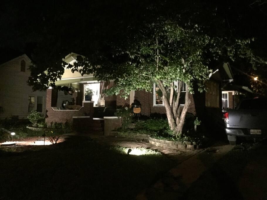 311 Arlington at night