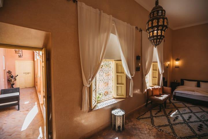 Tresor cache dans la Medina de Marrakech