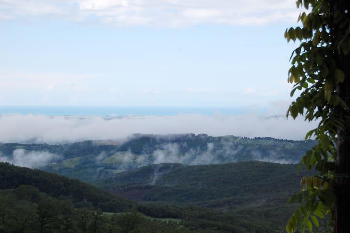 Vacanza in mezzo alla natura !!! - Montecatini Val di Cecina - Departamento
