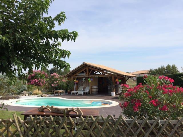 Maison au coeur du vignoble frontonnais - Fronton - Dom