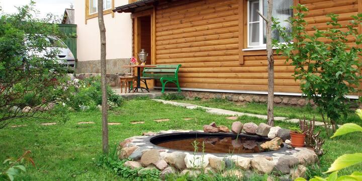 Гостевой домик для двоих с русской баней.