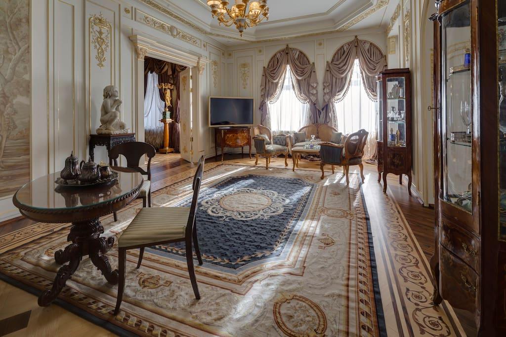 Императорский люкс чайная комната