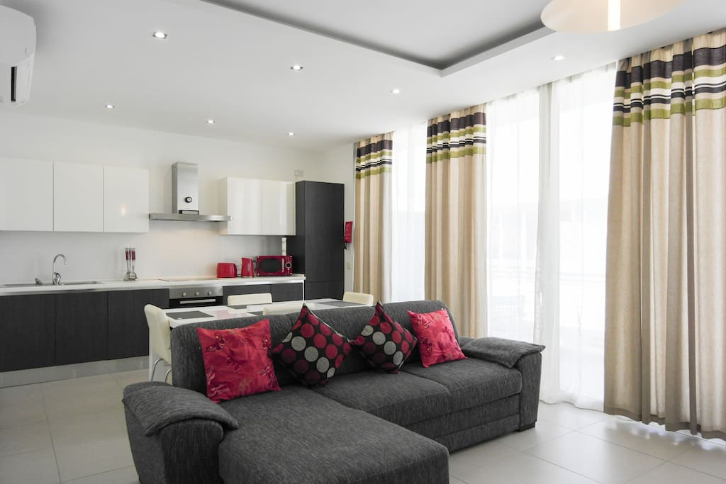 Beautiful modern penthouse