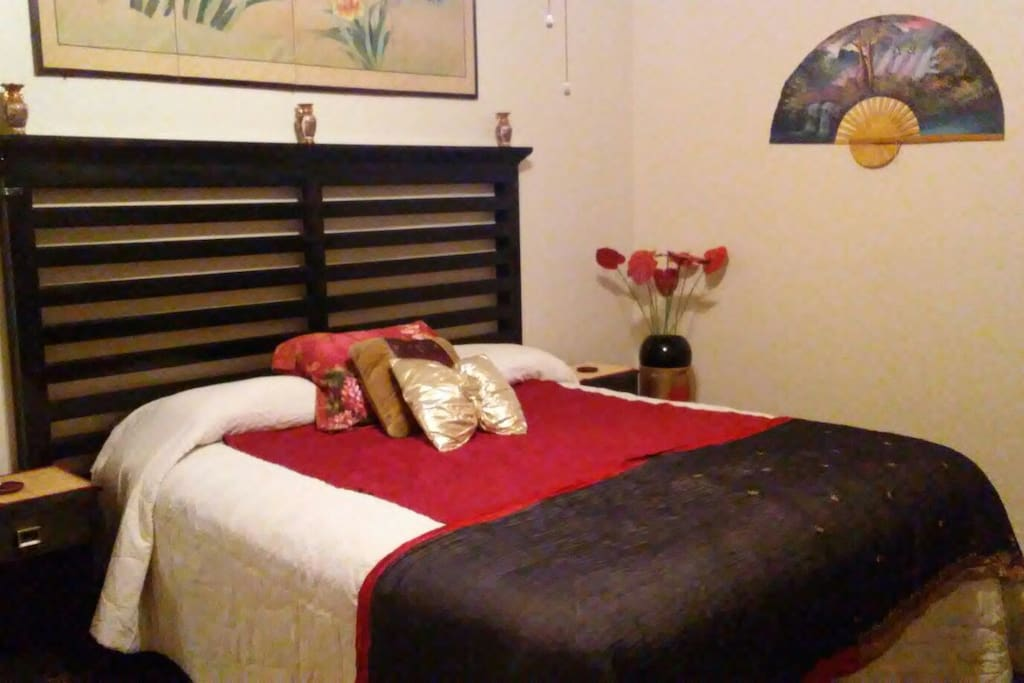 Bedroom #2 King size Bed.