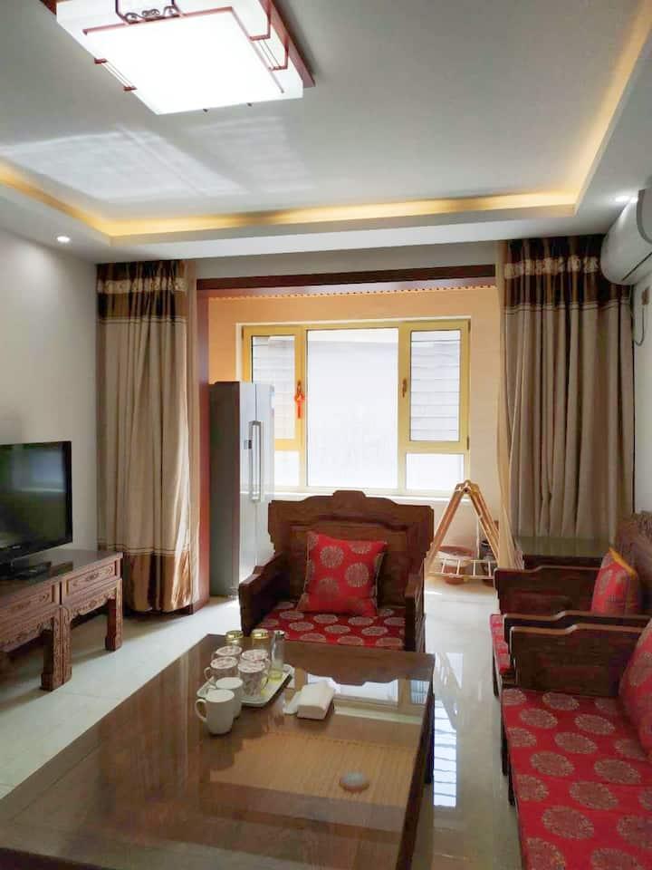 【典雅  静谧】整租一居室,古色古香,传统风格的温馨海边一居室房屋