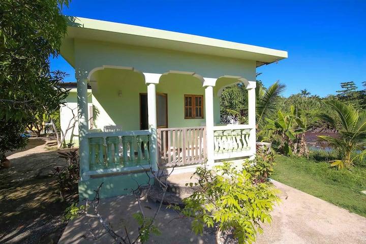 r&v villa private room with Veranda