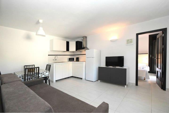 Living room - open plan kitchen