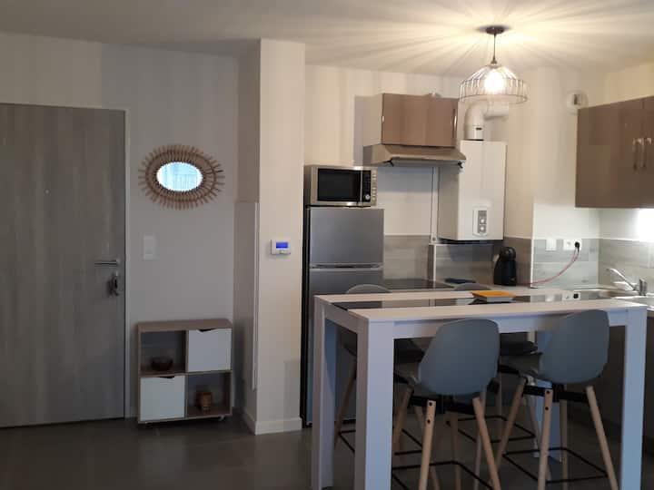 T2 tout neuf 50 m2 proche plages et de Bayonne
