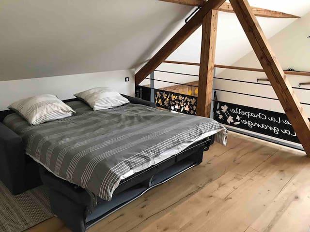 Mezzanine - Canapé lit