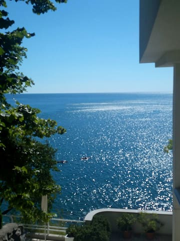 The apartment with private beach - Duino - 아파트