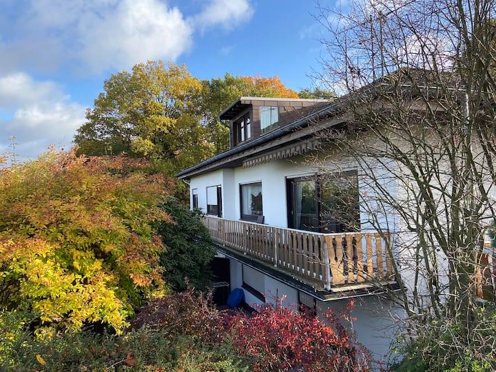 Wohnung mit Blick zum Siebengebirge