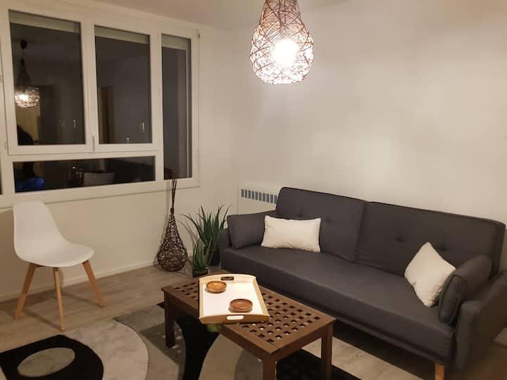 Appartement agréable et moderne