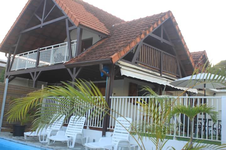 Maison Familiale sur la route des plages