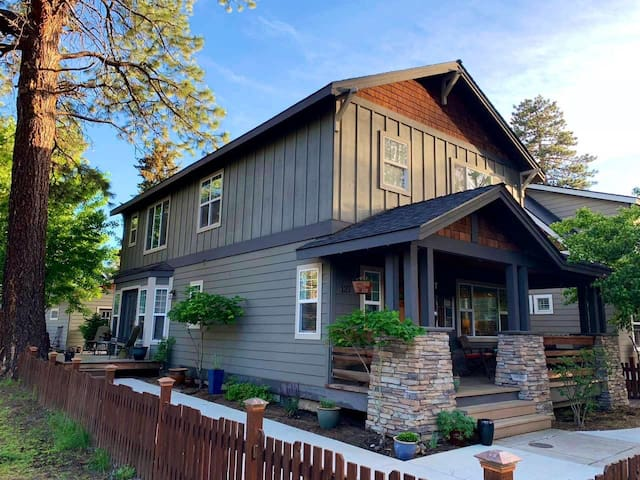Charming Craftsman Home just 2 Blocks to Downtown