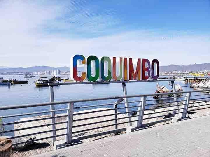 Departamento entero frente a la costa de Coquimbo