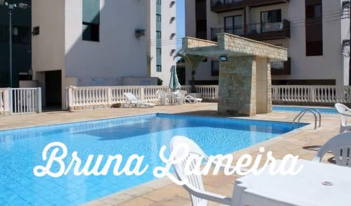 Lindo apartamento a 50 m da praia! ❤️