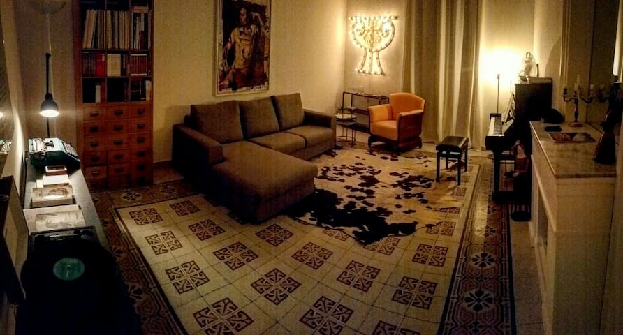 Appartamento design in centro - Palerm - Pis