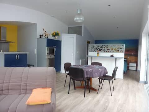 Logement indépendant, style loft