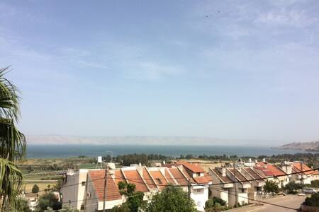 Overlooking the western shore of the Sea of Galile - Appartamento
