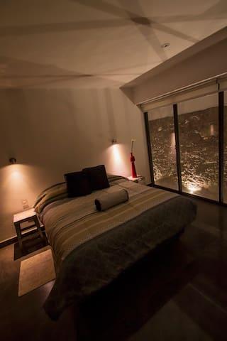 Vista del segundo dormitorio.