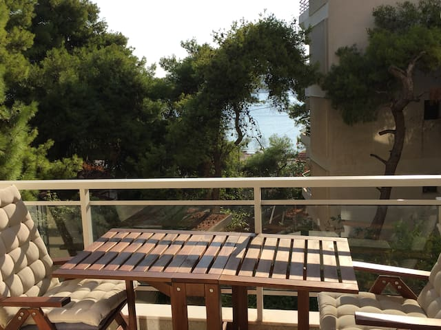 Beautiful Seaview Apartment - 100m from beach - Vari - Pis