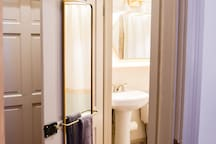 updated private bathroom