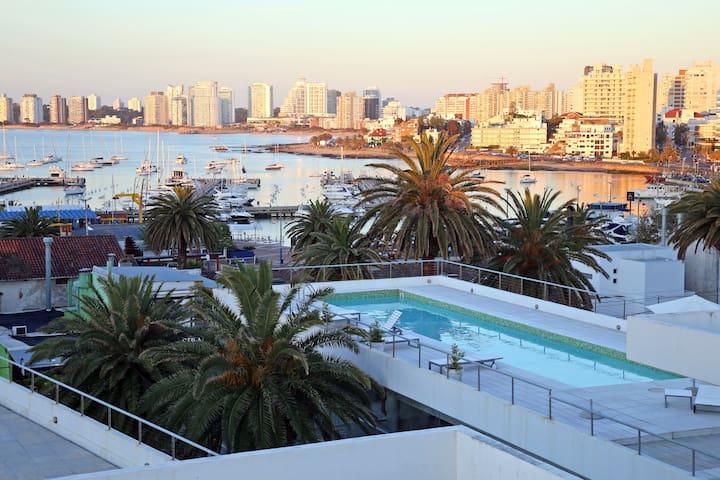 3. Gala Puerto! Moderno y amplio!3PAX - Punta del Este