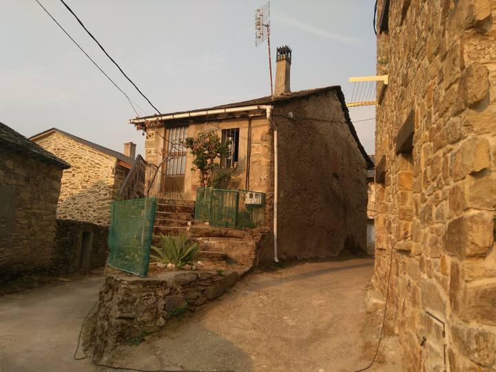 Casa de pueblo en Sanabria.