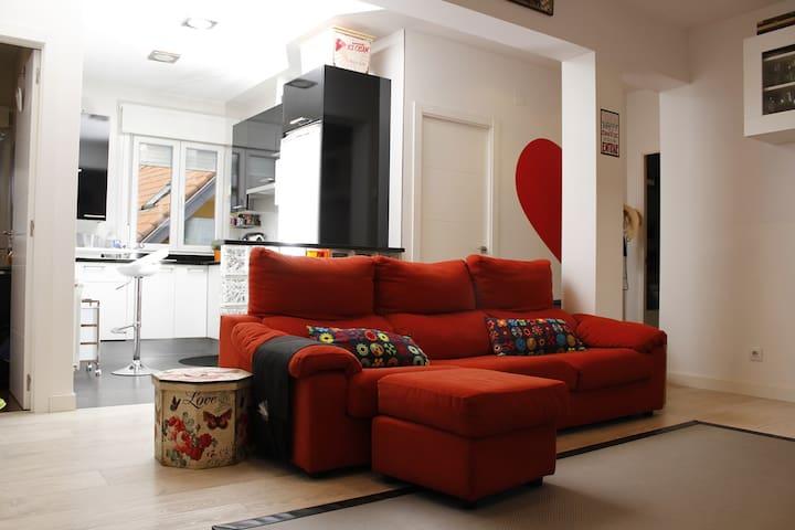 PISO CENTRO ZONA PLAZA PORTICADA - Santander - Apartamento