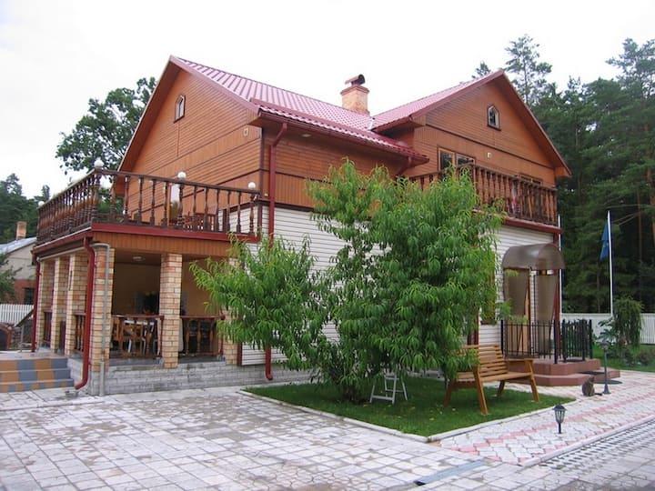 Уютный дом в ДЗИНТАРИ  для семейного отдыха