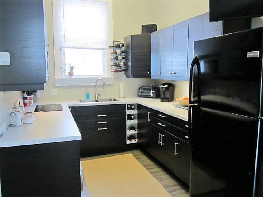 Well Stocked Kitchen, Full Size Refrigerator, Off Street Parking