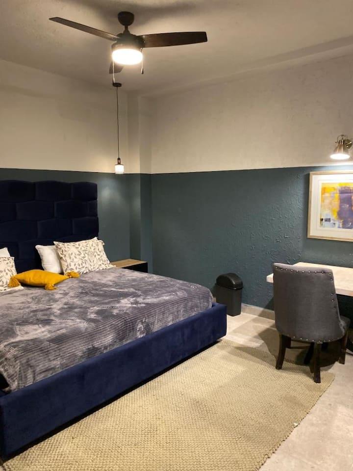 Loft con un excelente diseño, privado y seguro