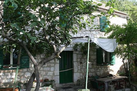 Old house near Blue lake - Imotski