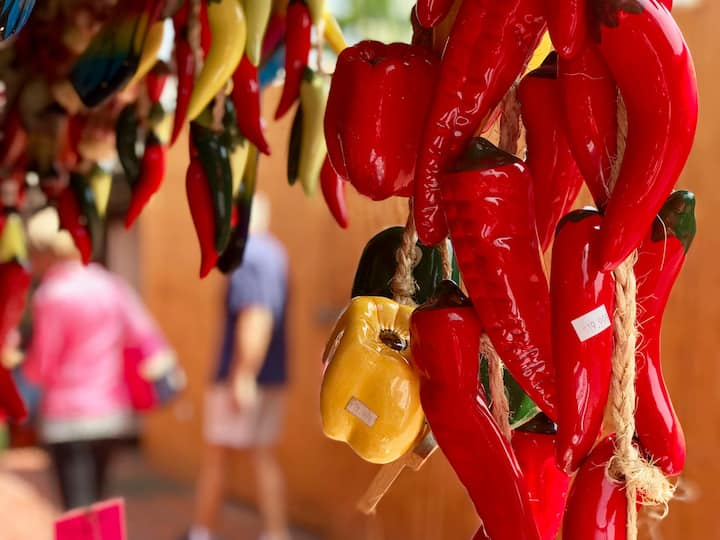 Peppers on Olvera Street