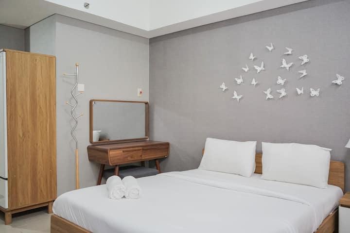 Minimalist & Warm Studio @ Bintaro Plaza Residence