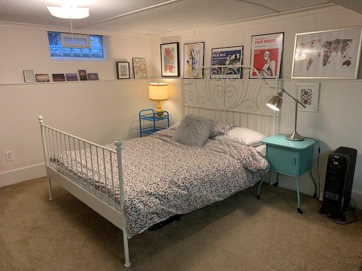 Beautiful basement apartment