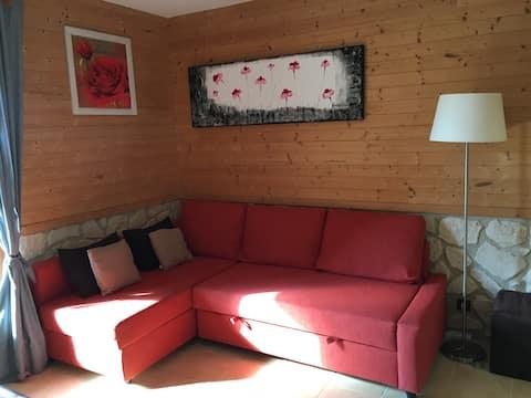 Studio aux Plans d'Hotonnes Ski randonnée VTT