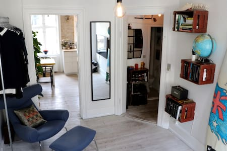 Apartment in the heart of Nørrebro. - 코펜하겐(Copenhagen) - 아파트