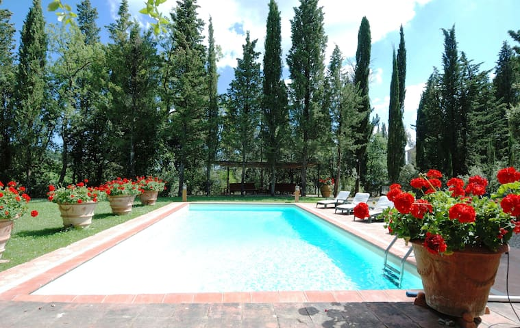 Villa San Martino 6-8 people - Greve in Chianti - Villa