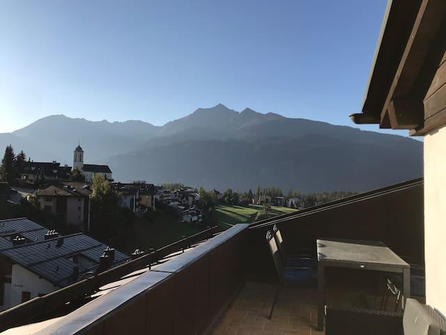 Wunderschöne 2.5 Zi-Panoramawohnung in LAAX, 4 Pax