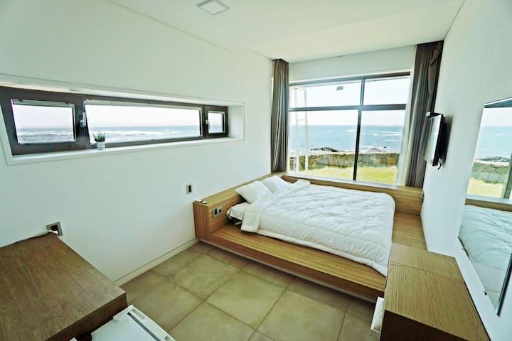 ♥오션뷰제주♥ Ocean View Jeju Guesthouse  #디럭스커플룸 #오션뷰