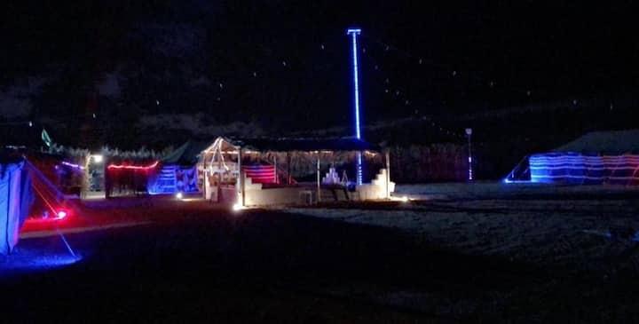 مخيم القرية النجدية