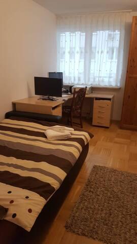 Bedroom for gast
